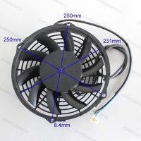 Вентилятор электрический (с дренажем) CF-Moto оригинальный, каталожный номер 9010-180200-A000